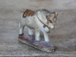 Marble Horse, made for a marriage dowry, Rajasthan circa 1900